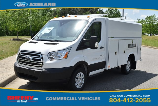 2019 Transit 350 4x2,  Reading Aluminum CSV Service Utility Van #JA63381 - photo 1
