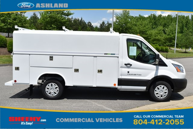 2019 Transit 350 4x2,  Reading Aluminum CSV Service Utility Van #JA63381 - photo 4
