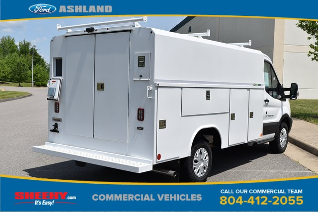 2019 Transit 350 4x2,  Reading Aluminum CSV Service Utility Van #JA63381 - photo 6