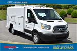 2019 Transit 350 4x2,  Reading Aluminum CSV Service Utility Van #JA63381 - photo 3