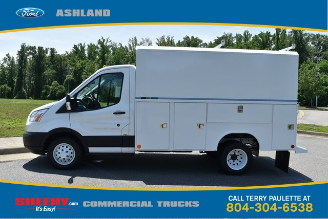 2019 Transit 350 HD DRW 4x2,  Reading Aluminum CSV Service Utility Van #JA67059 - photo 11