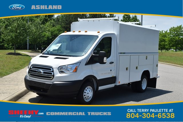 2019 Transit 350 HD DRW 4x2,  Reading Aluminum CSV Service Utility Van #JA67059 - photo 1