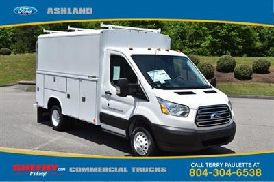 2019 Transit 350 HD DRW 4x2,  Reading Aluminum CSV Service Utility Van #JA67059 - photo 3