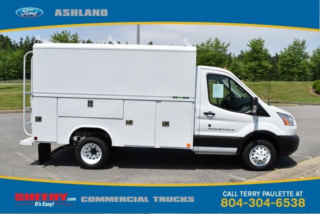 2019 Transit 350 HD DRW 4x2,  Reading Aluminum CSV Service Utility Van #JA67060 - photo 4