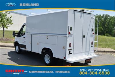 2019 Transit 350 HD DRW 4x2,  Reading Aluminum CSV Service Utility Van #JA67060 - photo 2