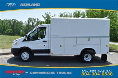 2019 Transit 350 HD DRW 4x2,  Reading Aluminum CSV Service Utility Van #JA67060 - photo 10