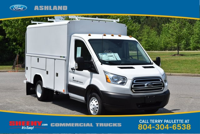 2019 Transit 350 HD DRW 4x2,  Reading Aluminum CSV Service Utility Van #JA67061 - photo 3