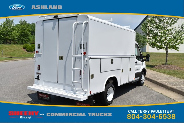 2019 Transit 350 HD DRW 4x2,  Reading Aluminum CSV Service Utility Van #JA67061 - photo 5