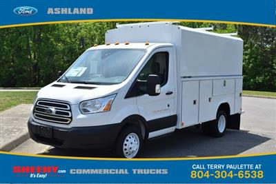 2019 Transit 350 HD DRW 4x2,  Reading Aluminum CSV Service Utility Van #JA67061 - photo 1