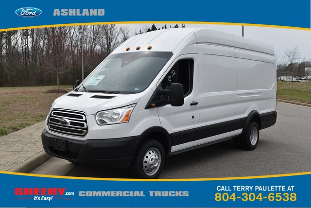 2019 Transit 350 HD High Roof DRW 4x2,  Empty Cargo Van #JA78625 - photo 1