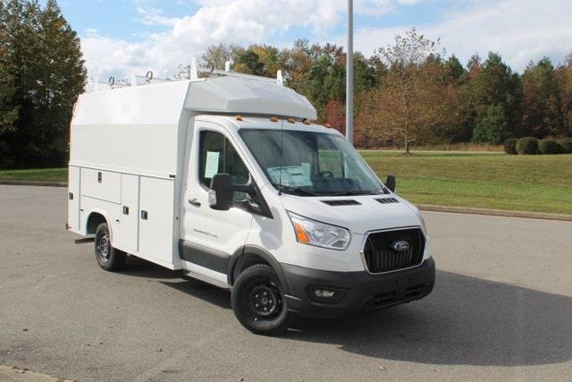 2020 Ford Transit 350 4x2, Knapheide Service Utility Van #JA85322 - photo 1
