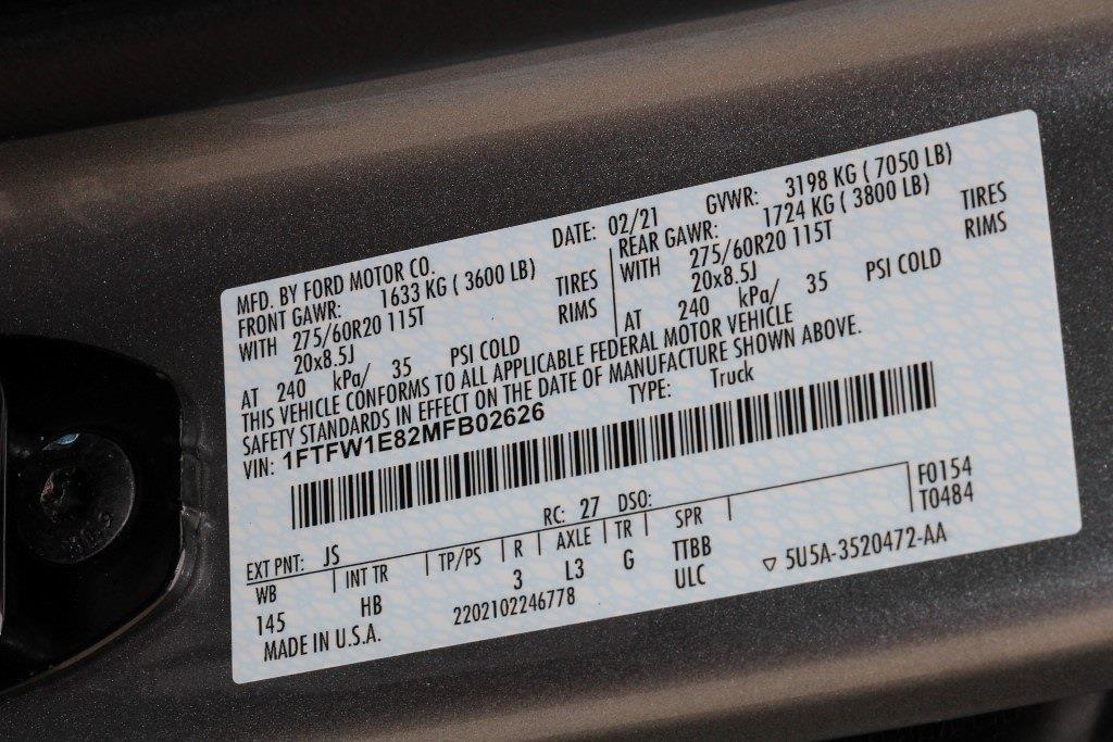2021 Ford F-150 SuperCrew Cab 4x4, Pickup #JB02626 - photo 45