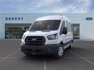 2020 Ford Transit 350 Med Roof 4x2, Passenger Wagon #JB38995 - photo 3
