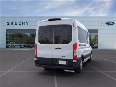 2020 Ford Transit 350 Med Roof 4x2, Passenger Wagon #JB38995 - photo 8