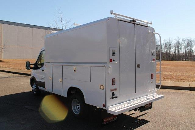 2020 Ford Transit 350 HD DRW 4x2, Reading Aluminum CSV Service Utility Van #JB75913 - photo 3
