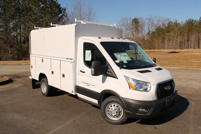 2020 Ford Transit 350 HD DRW 4x2, Reading Aluminum CSV Service Utility Van #JB75913 - photo 1