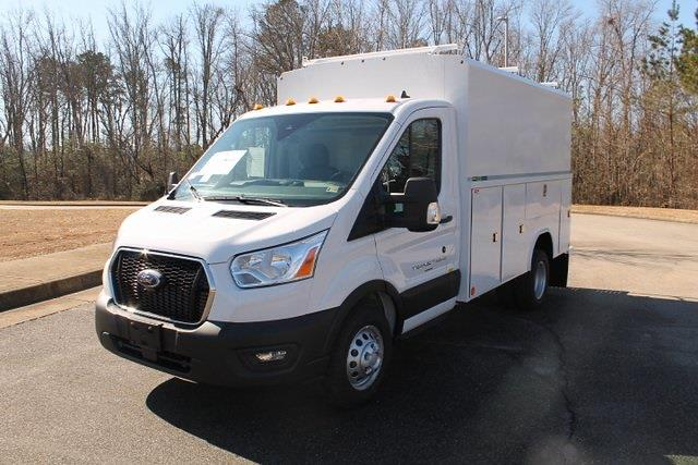 2020 Ford Transit 350 HD DRW 4x2, Reading Aluminum CSV Service Utility Van #JB75913 - photo 5