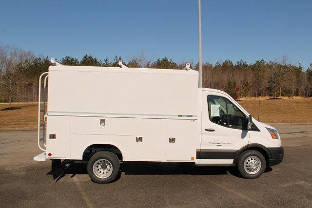 2020 Ford Transit 350 HD DRW 4x2, Reading Aluminum CSV Service Utility Van #JB75913 - photo 8
