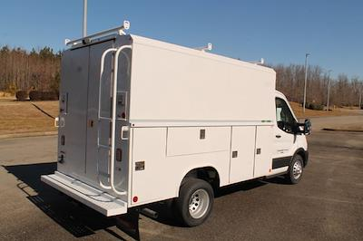 2020 Ford Transit 350 HD DRW 4x2, Reading Aluminum CSV Service Utility Van #JB75913 - photo 2