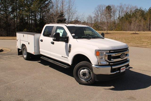 2021 Ford F-350 Crew Cab DRW 4x4, Reading SL Service Body #JC82839 - photo 1