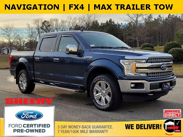 2018 Ford F-150 SuperCrew Cab 4x4, Pickup #JD04247A - photo 1