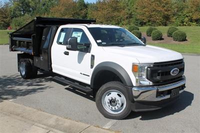 2020 Ford F-450 Super Cab DRW 4x4, Rugby Eliminator LP Steel Dump Body #JD12595 - photo 1
