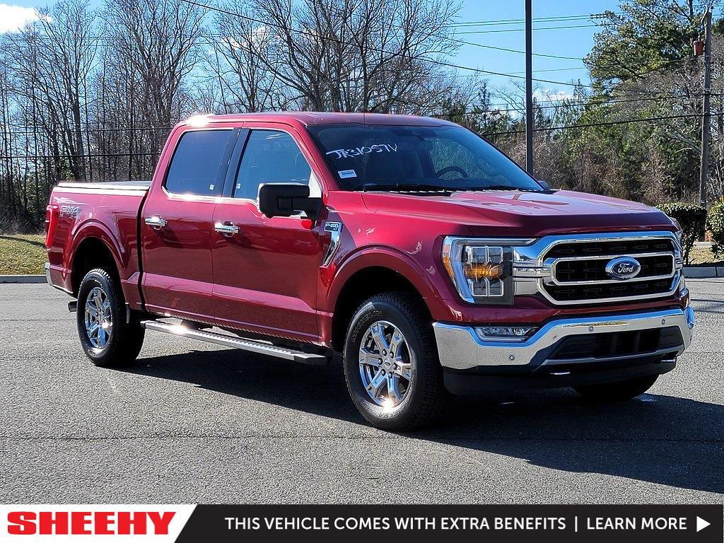 2021 Ford F-150 SuperCrew Cab 4x4, Pickup #JD31057 - photo 1