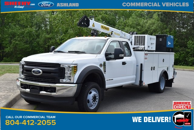 2019 F-550 Super Cab DRW 4x4,  Palfinger PAL Pro 43 Mechanics Body #JD48322 - photo 1