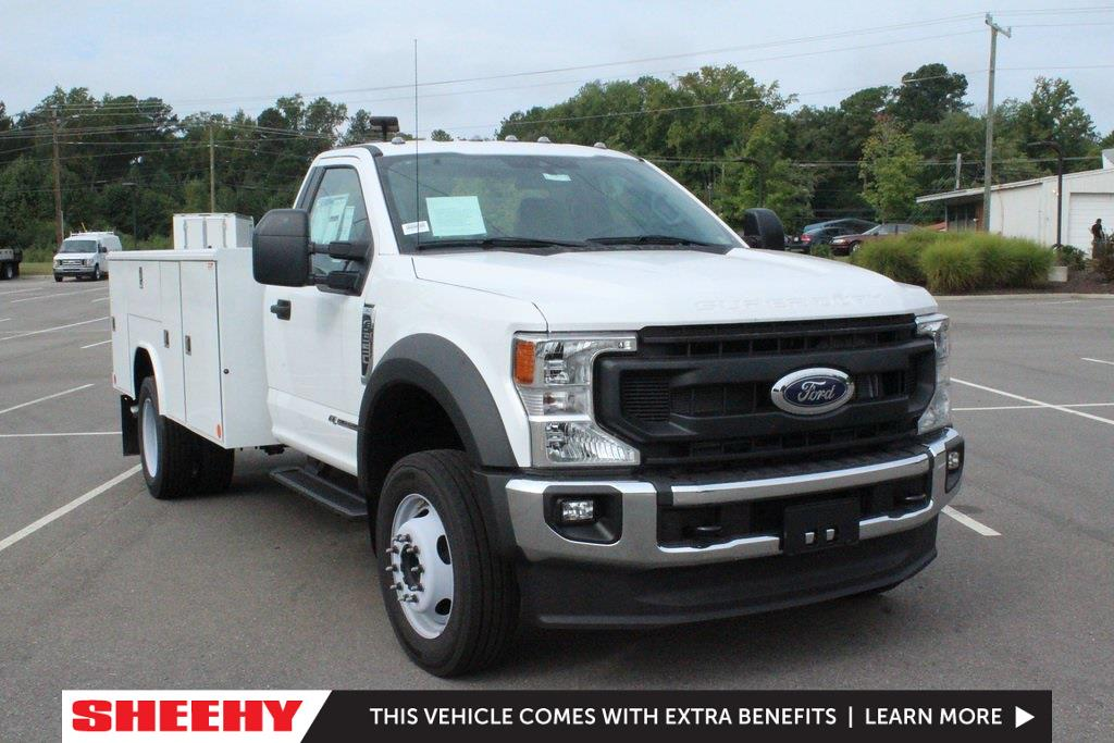2021 Ford F-550 Regular Cab DRW 4x2, Cab Chassis #JDA01156 - photo 1
