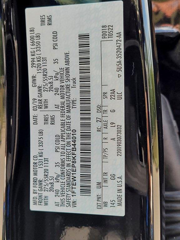 2019 Ford F-150 SuperCrew Cab 4x4, Pickup #JE04959A - photo 31