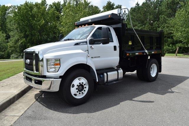 2021 Ford F-650 Regular Cab DRW 4x2, Godwin 300T Dump Body #JF03676 - photo 4