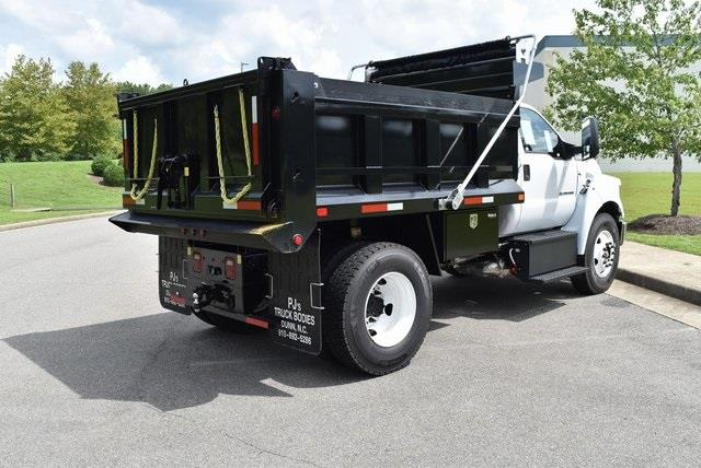 2021 Ford F-650 Regular Cab DRW 4x2, Godwin 300T Dump Body #JF03676 - photo 2