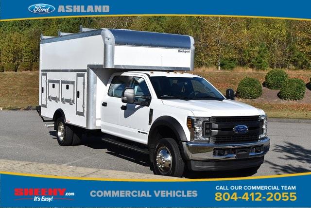 2019 F-550 Crew Cab DRW 4x4, Rockport Workport Service Utility Van #JF03691 - photo 3