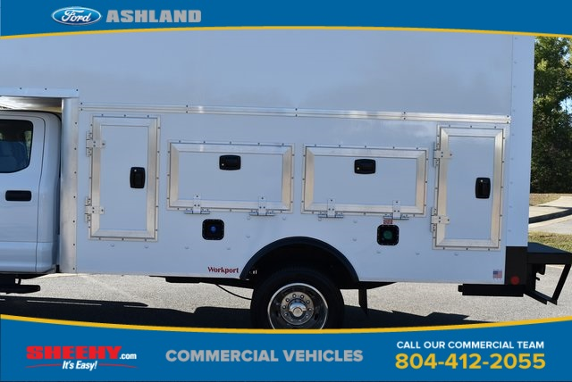 2019 F-550 Crew Cab DRW 4x4, Rockport Workport Service Utility Van #JF03691 - photo 11