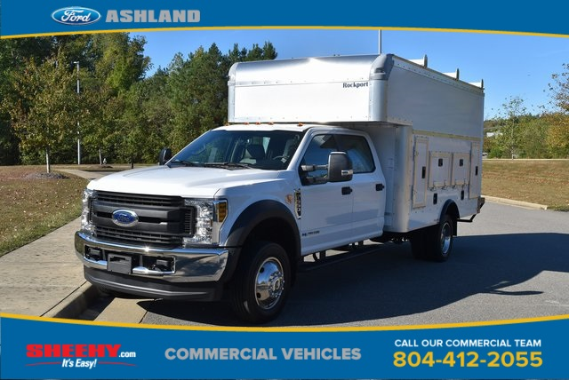 2019 F-550 Crew Cab DRW 4x4, Rockport Workport Service Utility Van #JF03691 - photo 1