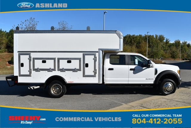 2019 F-550 Crew Cab DRW 4x4, Rockport Workport Service Utility Van #JF03691 - photo 5