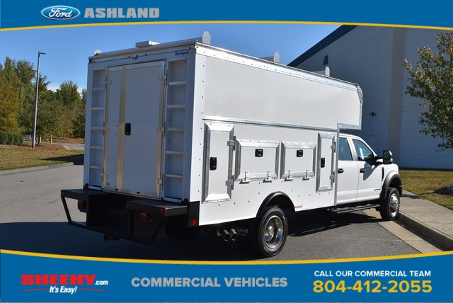 2019 F-550 Crew Cab DRW 4x4, Rockport Workport Service Utility Van #JF03691 - photo 4