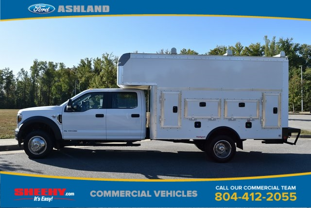2019 F-550 Crew Cab DRW 4x4, Rockport Workport Service Utility Van #JF03691 - photo 10