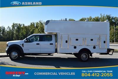 2019 F-550 Crew Cab DRW 4x4, Rockport Workport Service Utility Van #JF03691 - photo 10