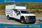 2019 F-550 Crew Cab DRW 4x4, Rockport Workport Service Utility Van #JF03691 - photo 3