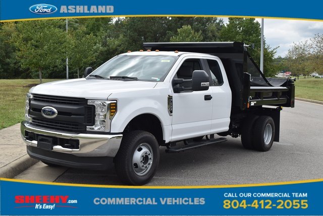 2019 F-350 Super Cab DRW 4x4, Rugby Dump Body #JF04490 - photo 1