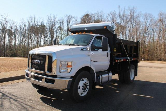 2021 Ford F-650 Regular Cab DRW 4x2, Godwin 300T Dump Body #JF08267 - photo 4