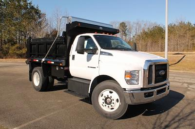 2021 Ford F-650 Regular Cab DRW 4x2, Godwin 300T Dump Body #JF08267 - photo 1