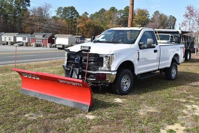 2019 F-250 Regular Cab 4x4, BOSS Snowplow Pickup #JG57931 - photo 1