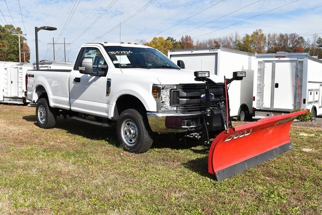 2019 F-250 Regular Cab 4x4, BOSS Snowplow Pickup #JG57931 - photo 3