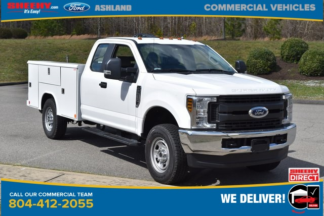 2019 Ford F-350 Super Cab 4x4, Reading Service Body #JG79788 - photo 1