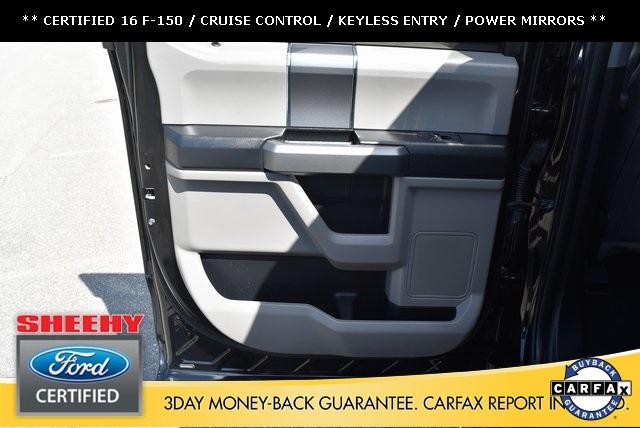2016 F-150 SuperCrew Cab 4x4,  Pickup #JP1664 - photo 13