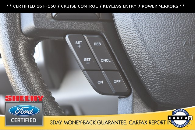 2016 F-150 SuperCrew Cab 4x4,  Pickup #JP1664 - photo 21