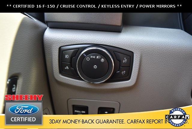 2016 F-150 SuperCrew Cab 4x4,  Pickup #JP1664 - photo 35