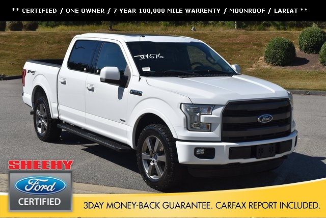 2016 F-150 SuperCrew Cab 4x4,  Pickup #JP1676 - photo 1